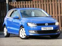 Volkswagen Polo 1.2 Match 5dr PETROL MANUAL 2012/12
