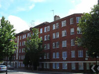 A two bedroom apartment in a well-maintained, exclusive mansion block in St. Johns Wood