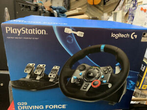 Logitech G29 Racing Wheel / Pedal Set