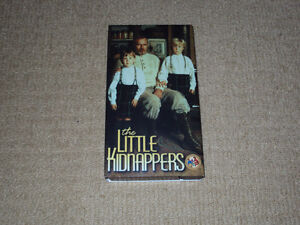 THE LITTLE KIDNAPPERS, VHS MOVIE, CHARLTON HESTON