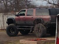 1996 Suburban lifted Monster