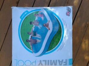 Inflatable pool for sale.