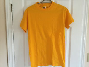 Canary Yellow Tee Shirt, Size M London Ontario image 3