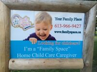 Family Space Child Care Provider just East of Frankford