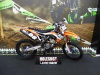 KTM SXF 250 Motocross Bike Full HGS exhaust system