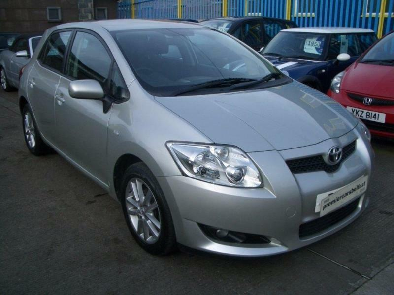 2008 toyota auris 1 4 vvt i tr 5dr in donegall road belfast gumtree. Black Bedroom Furniture Sets. Home Design Ideas