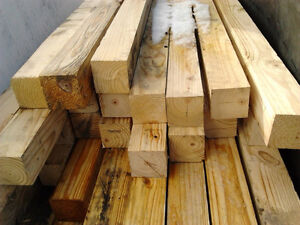 4x4 pure untreated wood