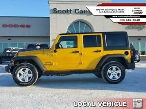 2015 Jeep Wrangler Unlimited Sport   - one owner - local - trade