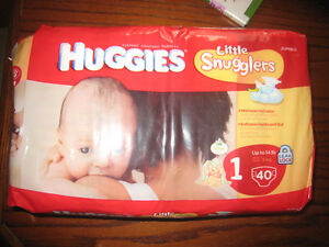 Diapers - Huggies Size 1 Jumbo pack - new in package Oakville / Halton Region Toronto (GTA) image 1