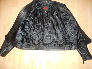 Men's Easyrider Leather Jacket - New Condition Cambridge Kitchener Area image 3