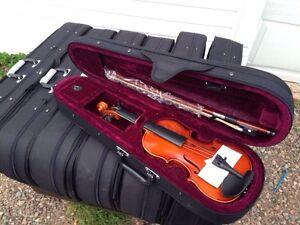 BRAND NEW VIOLIN PACKAGES WITH BOW ROSIN & CASE