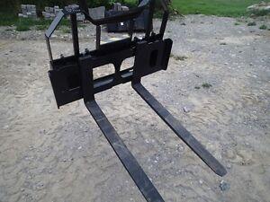 Skid Steer Pallet Forks New 2000lb-3700lb $599-$799