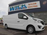 2015 Vauxhall VIVARO 2900 L2H1 CDTI LWB 115ps SPORTIVE Van *LOW MILES* Manual Me