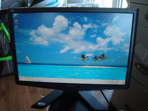 "Acer 19"" Flat Screen Computer Monitor"
