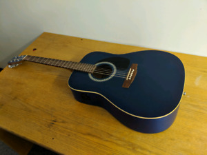 Electro acoustic guitar
