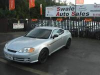 2003 HYUNDAI COUPE S 1.6 ONLY 77,555 MILES, LOW MILEAGE AND GREAT CONDITION
