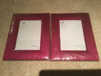 Pair of picture frames (brand new in original packaging with price tags)