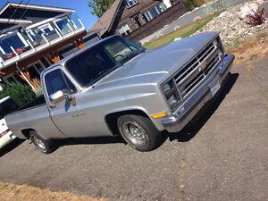 1987 Chevrolet Silverado 1500 Pickup Truck