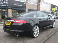 2010 Jaguar XF 3.0TD V6 Auto Portfolio 4DR 60 REG Diesel Black Hi Spec