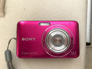 Sony Cyber-Shot digital camera with charger and case!