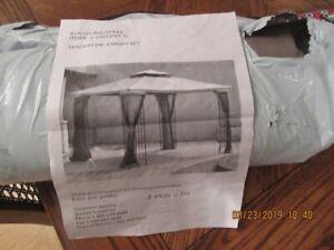 Canopy for 10' x 12' Leaf Steel Gazebo (new)