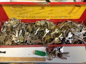 Collection de clés