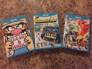 Wii U games for sale Nintendo Mint Condition