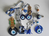 Turkish/Greek Glass Evil Eye 10 pieces