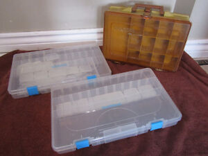 New Shimano Tackle Box Trays and Used Magnum Tackle Box