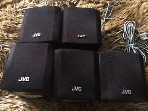JVC Surround Sound 5 Speakers - SP-THS11BF