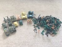 Soldier toys.