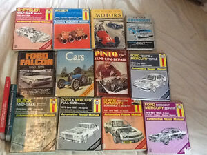 Car manual Chevrolet, ford,dodge, pinto,Mercury, Plymouth,Webber