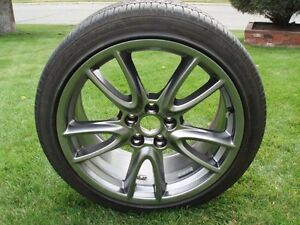 """Pair of 19"""" Goodyear Eagle RS-A tires"""