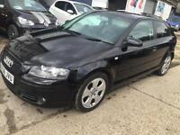 Audi A3 2.0L FSI, Full Leather, Cruise Control, Privacy Glass, 80,000 Miles.