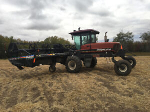 4952 Prairie star swather with 30ft macdon 972