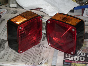 TAIL LIGHTS FOR TRUCK OR TRAILER NEW  [2]