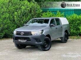 2017 67 TOYOTA HI-LUX 2.4 ACTIVE 4WD D-4D DCB 148 BHP DIESEL