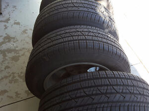 SUMMER TIRES MOTORMASTER   Tires with rims 215/60R 95V MMSE3 Kitchener / Waterloo Kitchener Area image 4