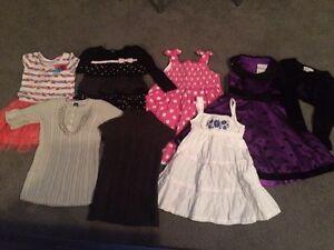 7 girls dresses- size 4