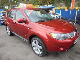 2010 59 MITSUBISHI OUTLANDER 2.0 DI-D EQUIPPE IN RED # GREAT VALUE 2010 4X4 #