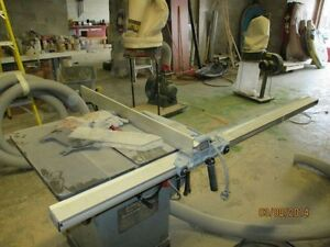 LARGE TABLE SAW TOOLEX 10 IN -and 14 IN BAND SAW London Ontario image 3