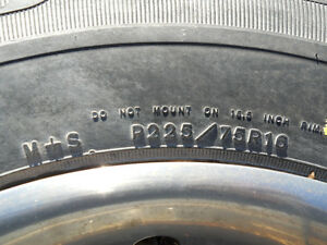 P225/75R16 Goodyear Wrangler M&S tire Peterborough Peterborough Area image 3