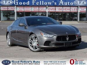 2015 Maserati Ghibli GHIBLI S Q4, LUXURY PACKAGE, AWD, FULLY LOA