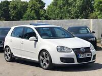 VW VOLKSWAGEN GOLF GTI 2.0T FSI PETROL DSG/AUTO 5DR HATCHBACK 2007 [07] WHITE