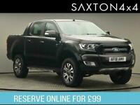2018 Ford Ranger 3.2 TDCi Wildtrak Double Cab Pickup 4dr Diesel Auto 4WD (200 ps