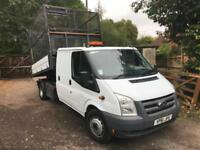 Ford Transit Cage side Tipper 115T350 LWB