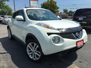 2012 Nissan Juke SL AWD SUV, Navi, Fully Loaded, 71Km