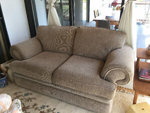 two good condition sofas