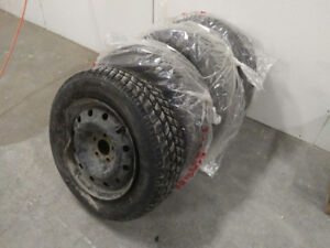 3 Hankook winter tires on mags 215/65R16