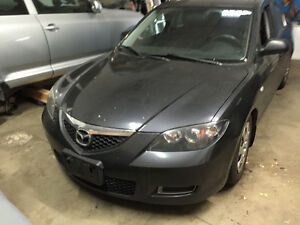 2007 Mazda 3 Parting Out